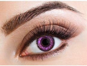 Eyecasions Violet Contact Lensesq