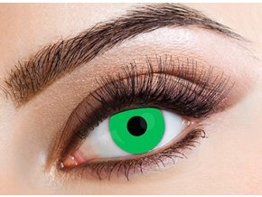 Eyecasions Lime Green Contact Lenses