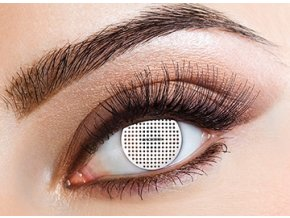 Eyecasions White Mesh Contact Lenses