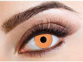Eyecasions Uv Orange Contact Lenses
