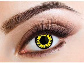 Eyecasions Explosion Yellow Contact Lenses