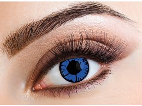 Eyecasions Blue flame Contact Lenses