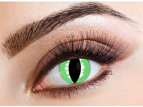 Eyecasions Green Lizard Contact Lenses