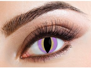 Eyecasions Purple Lizard Contact Lenses
