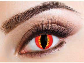 Eyecasions Red Lizard Contact Lenses
