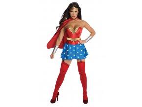Kostým Wonderwoman s korzetom