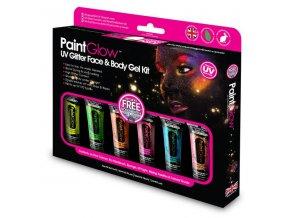 UV glitrove gely set