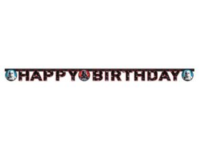 Banner Happy Birthday Star wars