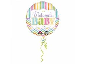 Fóliový balón Welcome Baby