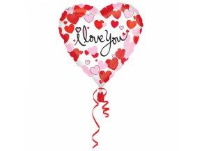 Fóliový balónik Love