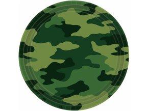 Taniere vojenské maskáčové 8 ks