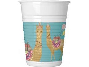 LLAMA PLASTIC CUP