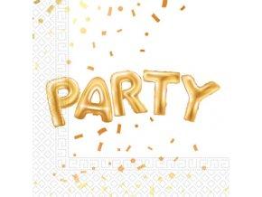 Zlata party servitky