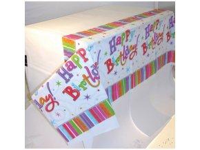 Obrus Šťastné narodeniny 137 X 274 cm