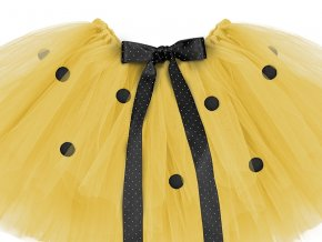 Sukňa žltá TUTU - Včielka 60 x 30 cm