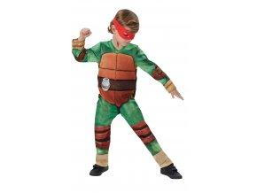 Detský kostým Ninja korytnačka deluxe