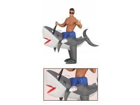 Kostym nafukovací žralok