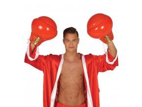 Nafukovacie boxovacie rukavice