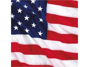 Servítky USA 33 x 33 16 ks