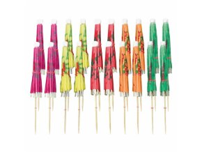 Ozdobné koktejlové dáždniky 20 ks