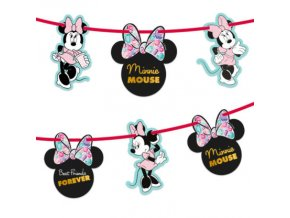 MINNIE PARTY GEM GARLAND KIT ICON