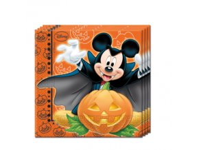 MICKEY HALLOWEEN NAPKINS