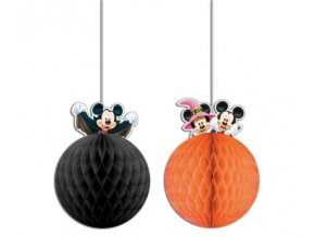 MICKEY HALLOWEEN HONEYCOMB DECORATION