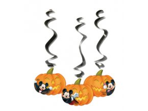 MICKEY HALLOWEEN DANGLING CUT OUTS