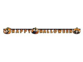 MICKEY HALLOWEEN LETTER BANNER