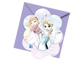FROZEN SPARKLE INVITATIONS
