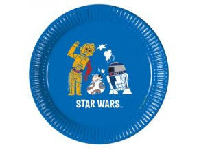 STAR WARS FORCES PLATE 20 CM