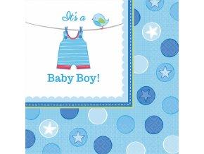 Servítky Baby Boy 16 ks