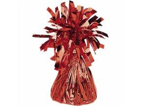 Fóliové závažie na balóny červené