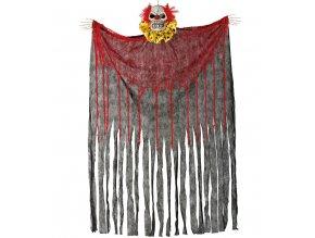 Visiaca dekorácia - Kostra Klauna