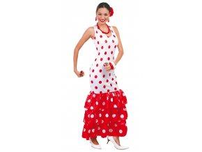 Tanečnice Flamenga - bíla