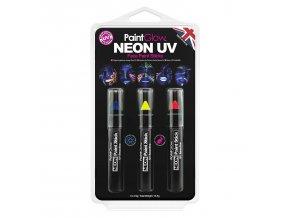HP31 Neon UV Face Paint Sticks