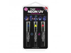 HP31 Neon UV Face Paint Sticks