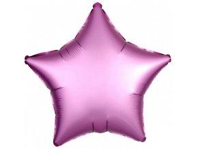 Fóliový balón Hviezda - Flamingo 43 cm