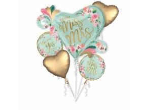 Kytica svadobných balónov