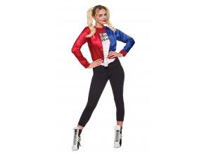 Kostýmová sada Harley Quinn - dámska
