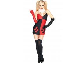 Kostým Darebáčka Harley Quinn - dámsky