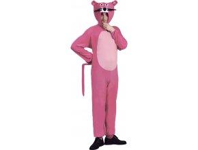 Pánsky kostým - Ružový panter