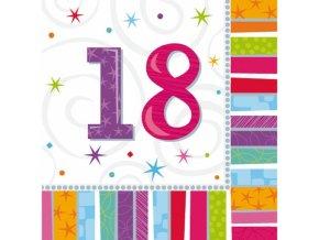 Servítky 18. narodeniny 16 ks