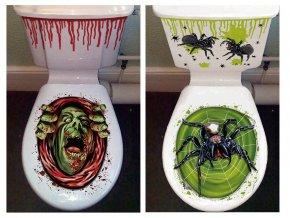 Nálepka na záchod