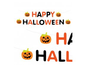Girlanda Happy Halloween - tekvice