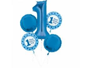 Modré balóny - 1. narodeniny