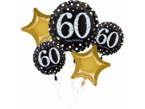 Kytica balónov - 60. narodeniny