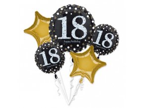 Kytica balónov - 18. narodeniny
