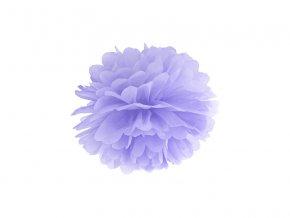 Pompom v tvare levanduľového kvetu 25 cm