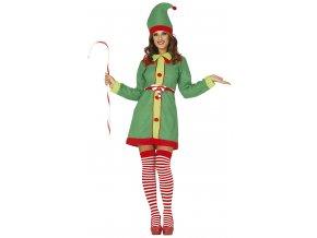Dámsky Kostým - Vianočná Elfka